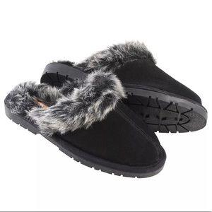 Sporto winter slipper sandals suede size S 5-6